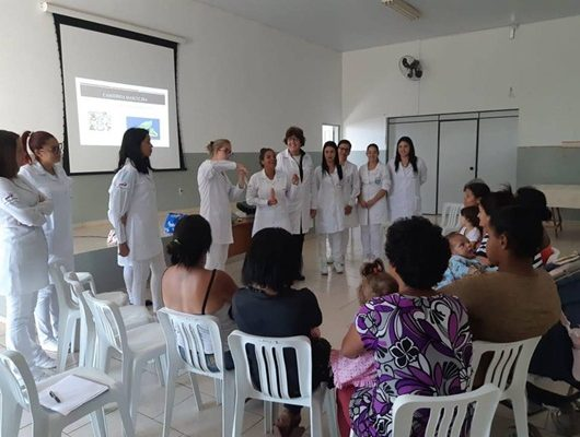 Enfermagem realiza palestra sobre ISTs