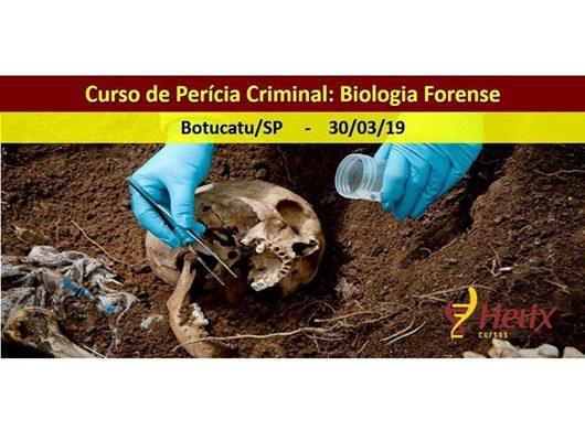 Alunos de Biomedicina fazem curso de Perícia Criminal