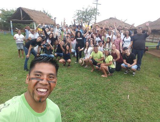 Núcleo Inclusio visita tribo indígena em Itaporanga