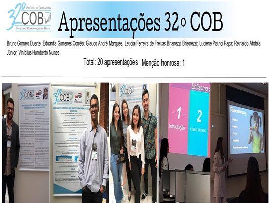 Alunas do curso de Odontologia são premiadas no 32º COB – Congresso Odontológico de Bauru