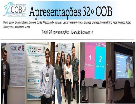 Alunas do curso de Odontologia são premiadas no 32º COB - Congresso Odontológico de Bauru