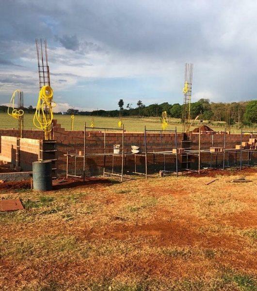 Construção do novo bloco do Hospital Universitário Veterinário-UniFSP